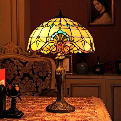 Comprar Lampara de mesa Estilo Tiffany