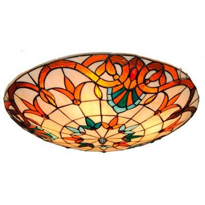 comprar Lampara estilo Tiffany de techo modelo plafón