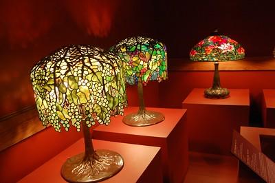 Las lámparas Tiffany originales son verdaderas obras de arte